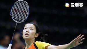 李雪芮VS峰步美 2016中国大师赛 女单1/8决赛视频
