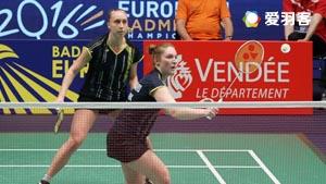 迈肯/蒂格森VS切尔维亚科娃/奥尔佳 2016欧锦赛 女双1/16决赛视频