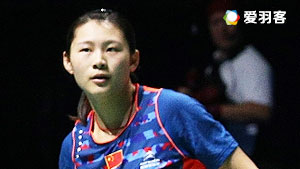 骆赢/骆羽VS陈晓欢/黄美菁 2016中国大师赛 女双1/16决赛视频