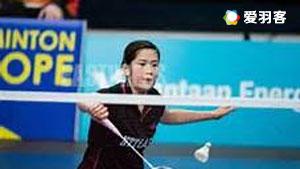 川岛里罗VS垣岩令佳 2016芬兰公开赛 女单半决赛视频