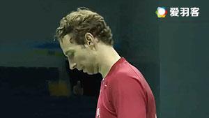 鲍伊/克里斯蒂安森VS亚瑟/梭贾沙 2016汤姆斯杯 男双小组赛视频