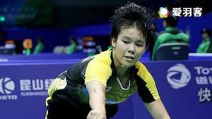 马琳VS吴堇溦 2016尤伯杯 女单小组赛视频