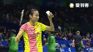 王仪涵VS马德森 2016尤伯杯 女单小组赛视频