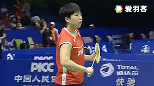 辛德胡VS山口茜 2016尤伯杯 女单小组赛明仕亚洲官网