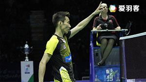 李宗伟VS安赛龙 2016汤姆斯杯 男单半决赛视频