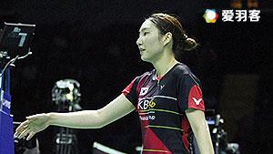 成池铉VS奥原希望 2016尤伯杯 女单半决赛视频
