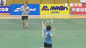 山本纱椰VS大迫晴加 2016日本国内排名赛 女单1/8决赛视频