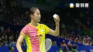 孙瑜VS因达农 2016印尼公开赛 女单1/16决赛视频