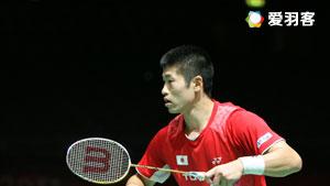 黄永棋VS佐佐木翔 2016印尼公开赛 男单1/16决赛视频