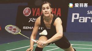 马琳VS山口茜 2016印尼公开赛 女单1/8决赛视频