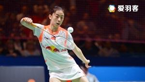 王适娴VS何冰娇 2016印尼公开赛 女单1/8决赛视频