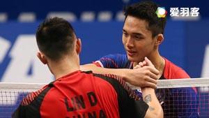 乔纳坦VS林丹 2016印尼公开赛 男单1/8决赛视频