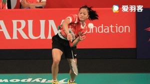 内维尔VS菲特安妮 2016印尼公开赛 女单1/8决赛视频