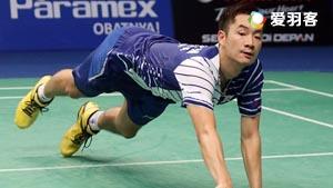 王睁茗VS周天成 2016印尼公开赛 男单1/8决赛视频