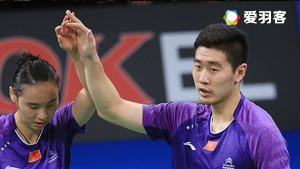 刘成/包宜鑫VS刘雨辰/汤金华 2016印尼公开赛 混双1/8决赛视频