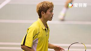 五十岚优VS内藤浩司 2016印尼公开赛 男单1/8决赛视频