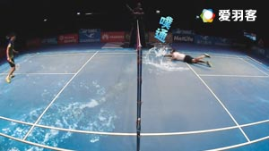 非专业跳水选手维汀哈斯热血演绎鱼跃