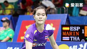 布桑兰VS江梅惠 2016台北公开赛 女单1/16决赛视频
