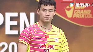 乔斌VS许仁豪 2016台北公开赛 男单1/16决赛视频