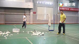 从菜鸟到老江湖9丨反手网前综合球路练习
