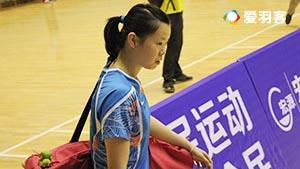 孙瑜VS李雪芮 2016里约奥运热身赛 女单小组赛视频