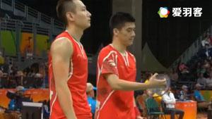 傅海峰/张楠VS福克斯/斯科特勒 2016奥运会 男双小组赛视频
