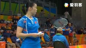 李雪芮VS谭莲妮 2016奥运会 女单小组赛视频