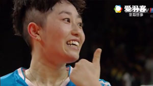 张艺娜/李绍希VS唐渊渟/于洋 2016奥运会 女双小组赛视频
