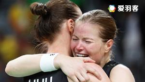 唐淵渟/于洋VS尤爾/佩蒂森 2016奧運會 女雙半決賽視頻