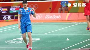 馬琳VS李雪芮 2016奧運會 女單半決賽視頻