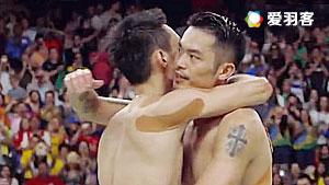 林李戰后的溫情:擁抱與交換戰袍