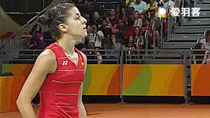 马琳VS辛德胡 2016奥运会 女单决赛视频