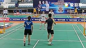 总决赛甲组 廖宗迪/谭思宁VS瞿江/黄靖 2016双雄会混合团体赛 混双小组赛视频