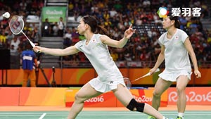 高橋禮華/松友美佐紀VS尤爾/佩蒂森 2016奧運會 女雙決賽視頻