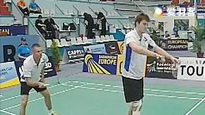 凯尔索迪/马特斯亚克VS克里斯托夫/托马斯 2016欧洲俱乐部团体赛 男双1/4决赛视频