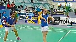 凯尔索迪/科拉莱斯VS努兰大/席琳 2016欧洲俱乐部团体赛 混双1/4决赛视频