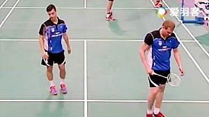 德雷明/格拉切夫VS米德尔堡/弗拉尔 2016欧洲俱乐部团体赛 男双1/4决赛视频