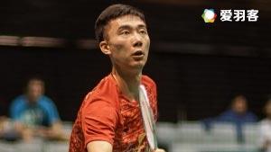 黄宇翔VS庞吉斯图 2016印尼大师赛 男单1/4决赛视频