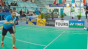 科维VS伊万诺夫 2016欧洲俱乐部团体赛 男单半决赛视频