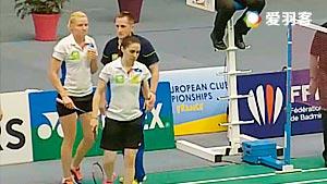 加夫列拉/斯托伊娃VS科拉莱斯/希尔巴 2016欧洲俱乐部团体赛 女双决赛视频