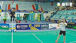 科拉莱斯VS凯特 2016欧洲俱乐部团体赛 女单决赛视频