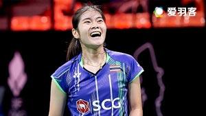 布桑兰VS李蔷美 2016印尼大师赛 女单1/4决赛视频