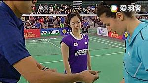 峰步美VS泽奇里 2016美国公开赛 女单半决赛视频