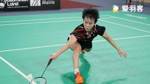 吴堇溦VS金达汶 2016印尼大师赛 女单半决赛视频