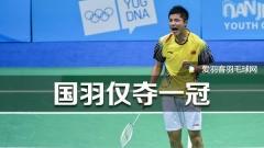 印尼大师赛丨石宇奇男单夺冠,男双不敌印尼
