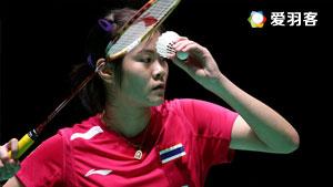 布桑兰VS吴堇溦 2016印尼大师赛 女单决赛视频