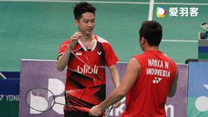 2016印尼大师赛决赛五佳球