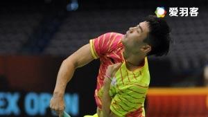 乔斌VS伊斯干达 2016韩国公开赛 男单1/8决赛视频