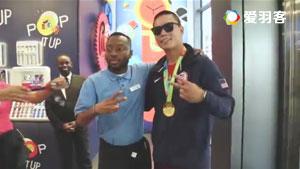 男子美国街头自称奥运男单冠军,你让谌龙怎么想?