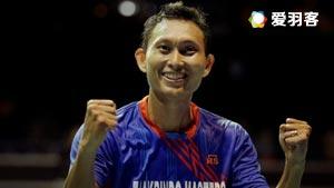 索尼VS李卓耀 2016泰国公开赛 男单半决赛视频